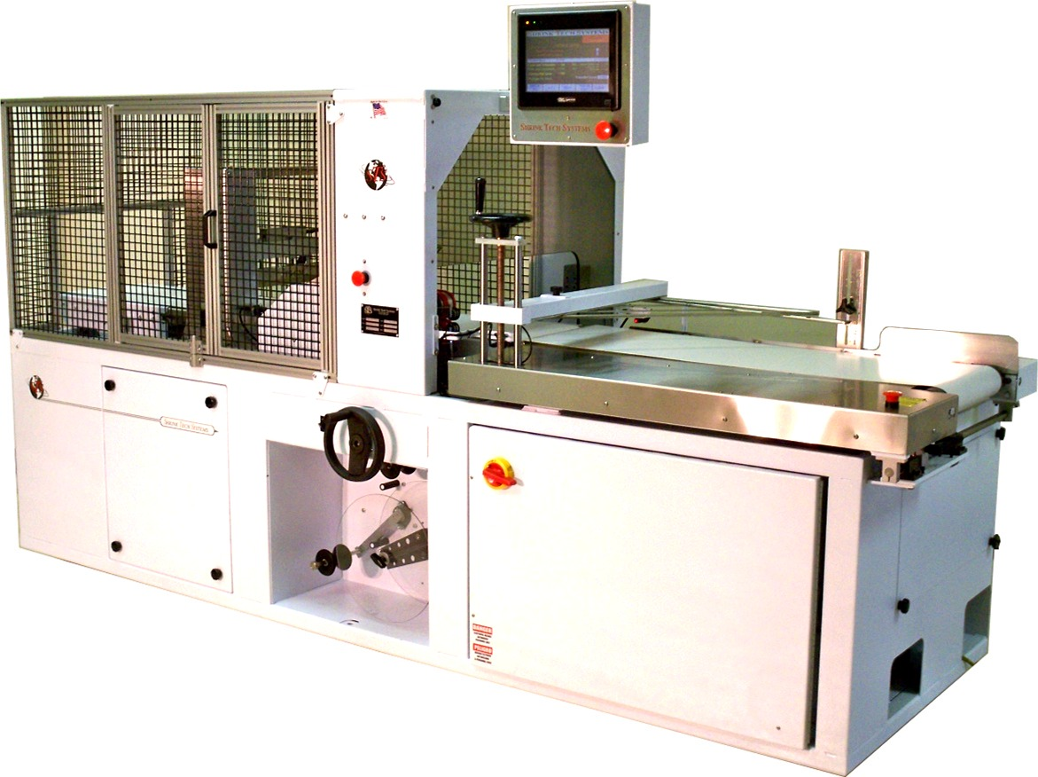 Shrink Tech Systems Continuous Motion Shrink Wrapper